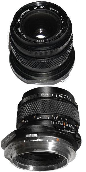 Olympus 35mm Shift f2.8