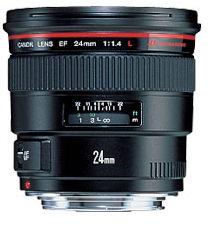 Canon 24mm f1.4 L